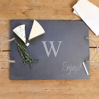 Personalized Slate Tray